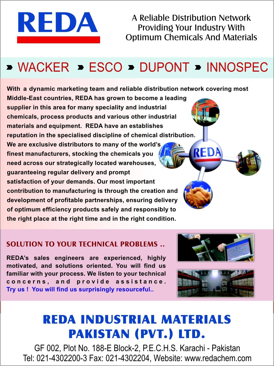 Reda chemicals